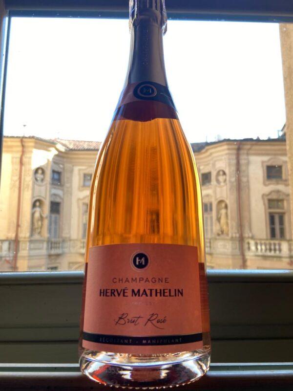 herve mathelin champagne rose